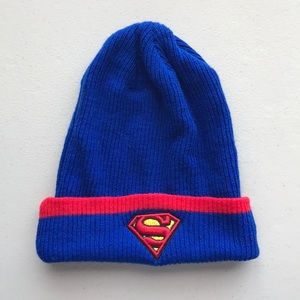 Other - Superman Knit Hat